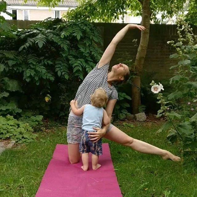 yoga met mijn kind